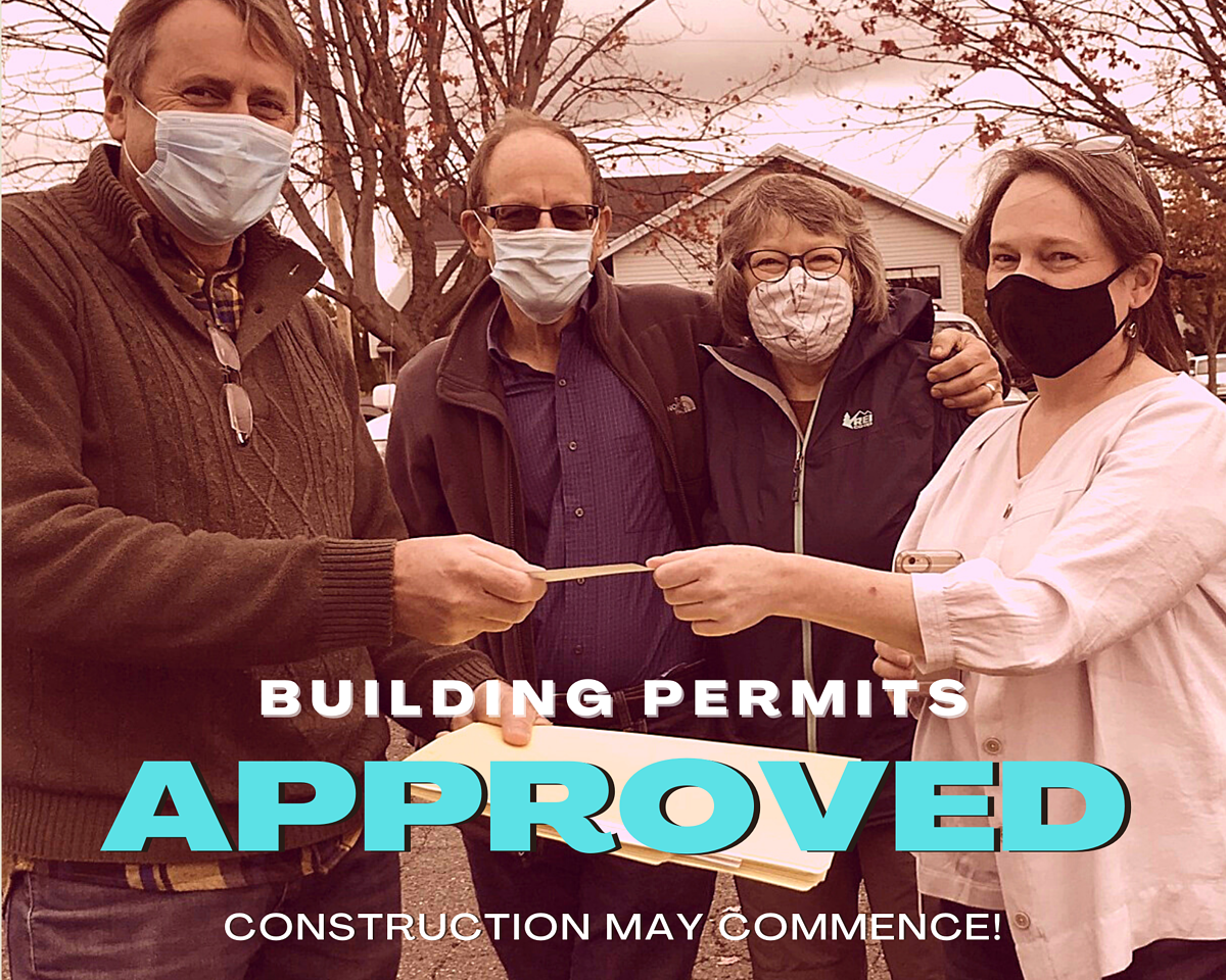 APPROVED building permits rosie