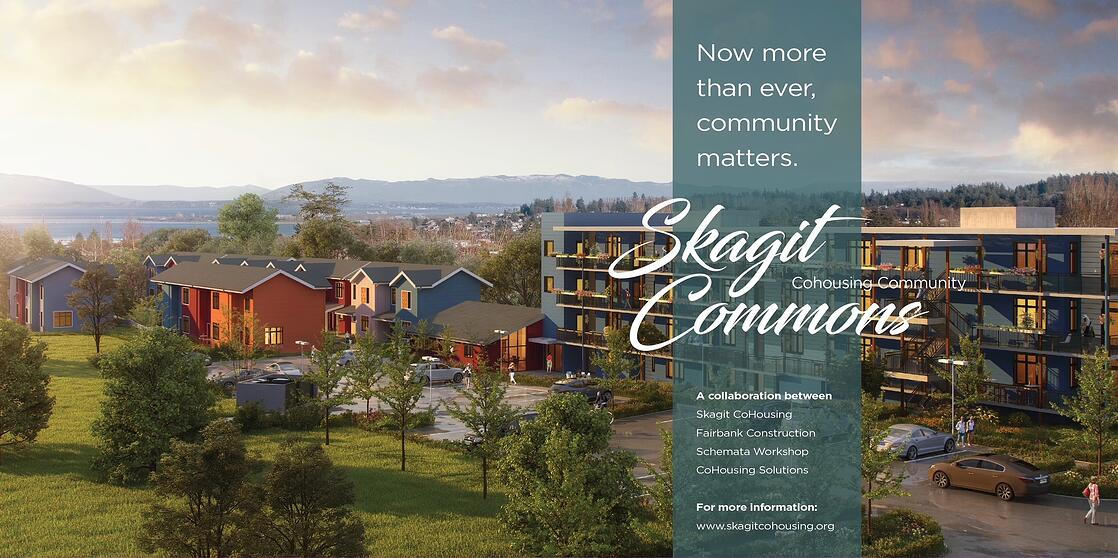 Skagit Commons site construction sign