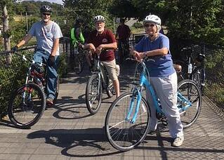 Bicycling in Anacortes